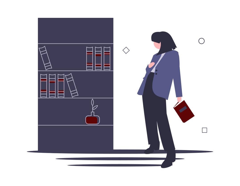 Themenkompetenz_undraw_bookshelves_xekd